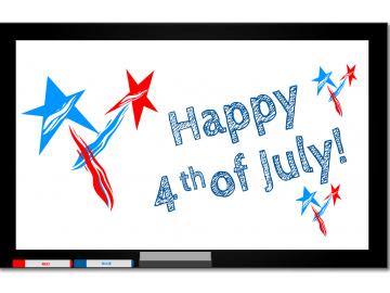 The library will be closed July 4, 2017
