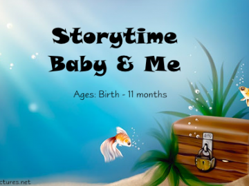 Baby & Me Storytime February 23@ 11:00 AM - Sign Up today!