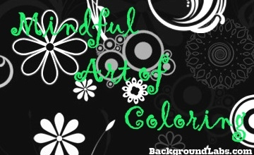 Mindful Art of Coloring: August 21 @ 5:00 PM