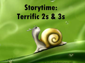 Storytime 2s & 3s: March 9 @ 11:00 AM - Sign Up Today!