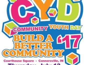 Community Youth Day: July 13 @ 11:00am-3pm (City Parking)