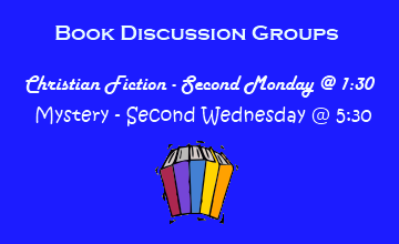 Book Discussion Groups @ Your Library